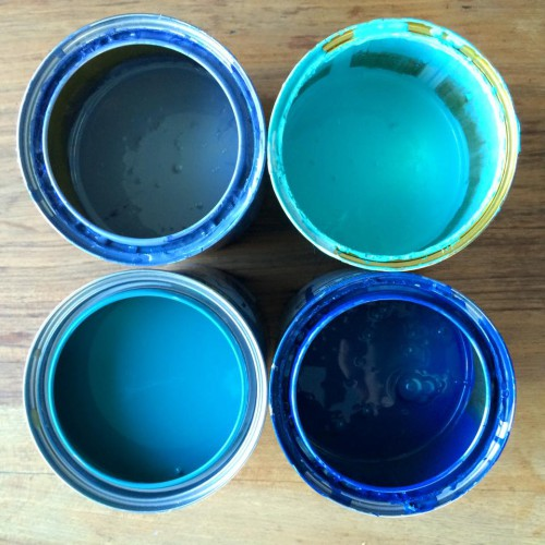 Blue Paints