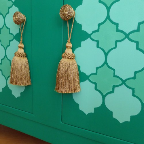Green Moroccan Cabinet