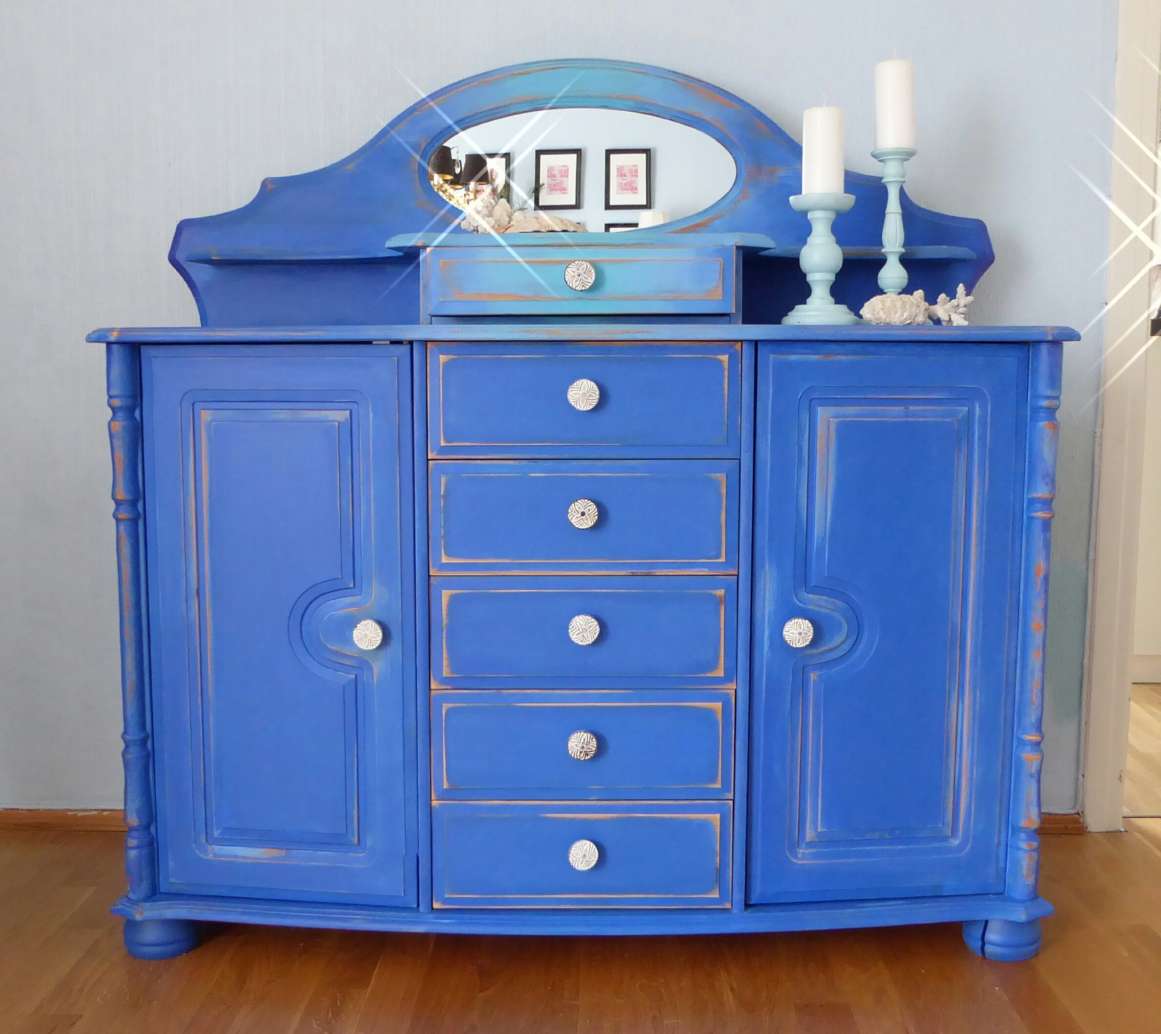 makeover how paint street thirty ideas before bedroom chalk on furniture and blue eighth layering the after