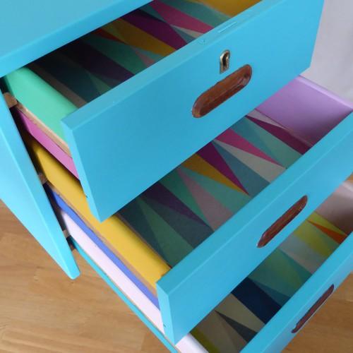 Color Bomb Teak Desk (1)