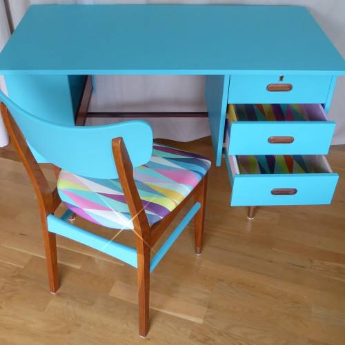 Color Bomb Teak Desk (15)