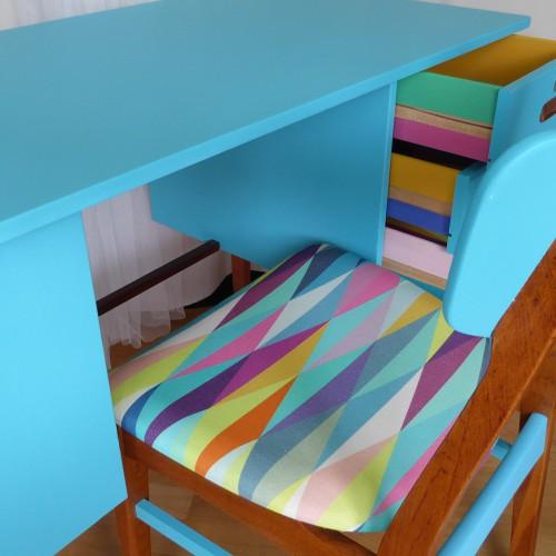 Color Bomb Teak Desk (20)