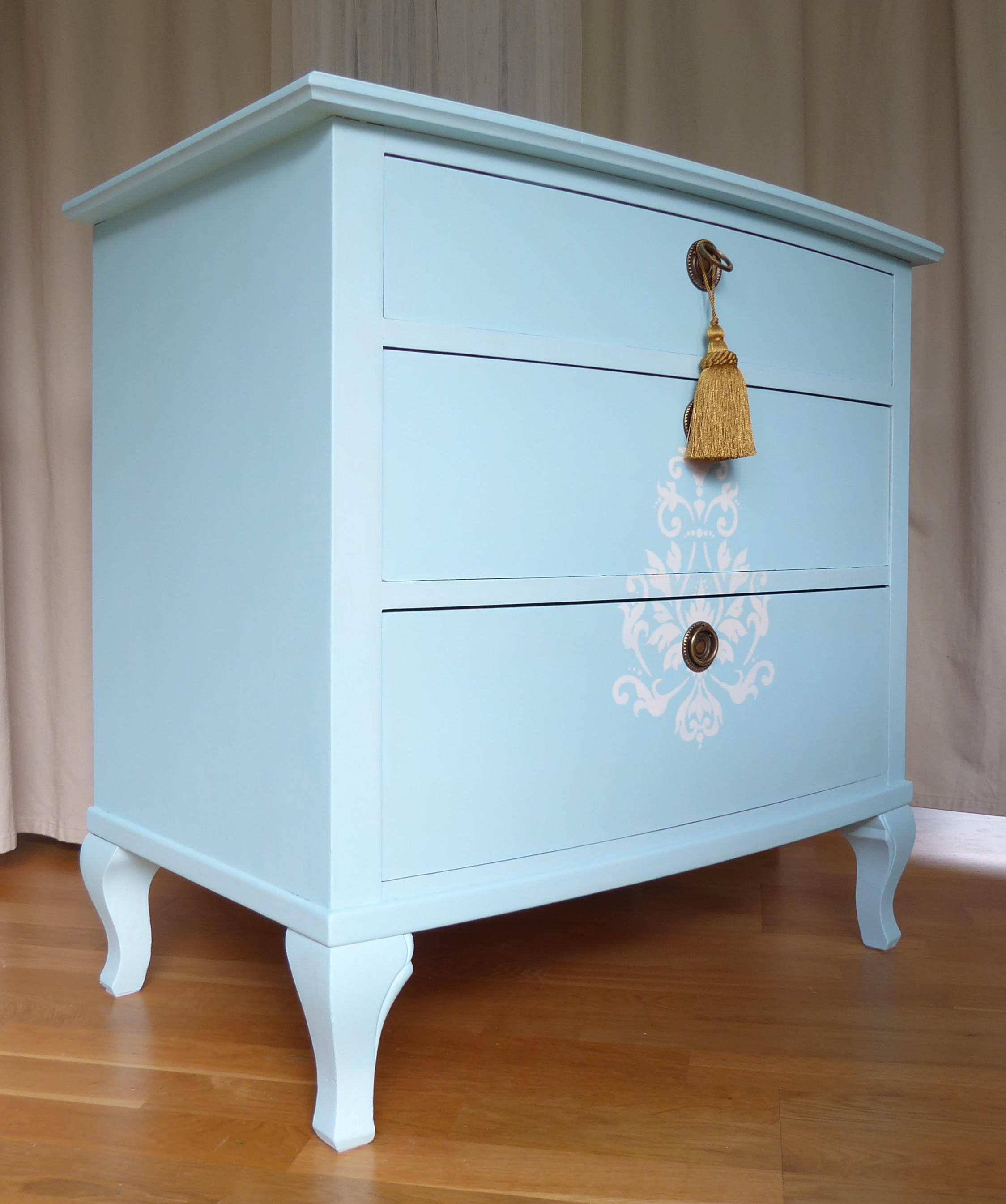 drawer chic shabby silver zoom of chest drawers